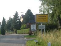 ortsschild eingang freiolsheim moosbronn